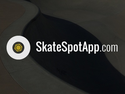 SkateSpotApp Logo typography logo