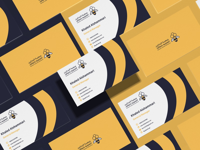 Beekeepers Logo & Identity Design ibrahimartwork logo identity branding creative ibrahim-rady business card