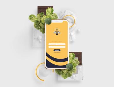 Beekeepers Logo & Identity Design ibrahimartwork creative branding identity design ibrahim-rady uidesign uiux ux ui