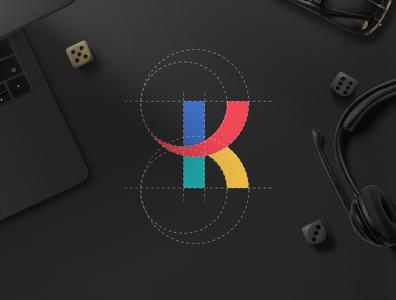 K lette  | Logo design identity design logo ibrahimartwork logodesign identity branding design