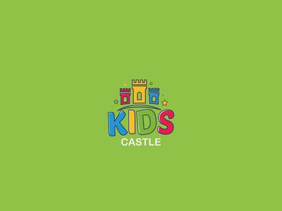 Kids Castle Logo Design