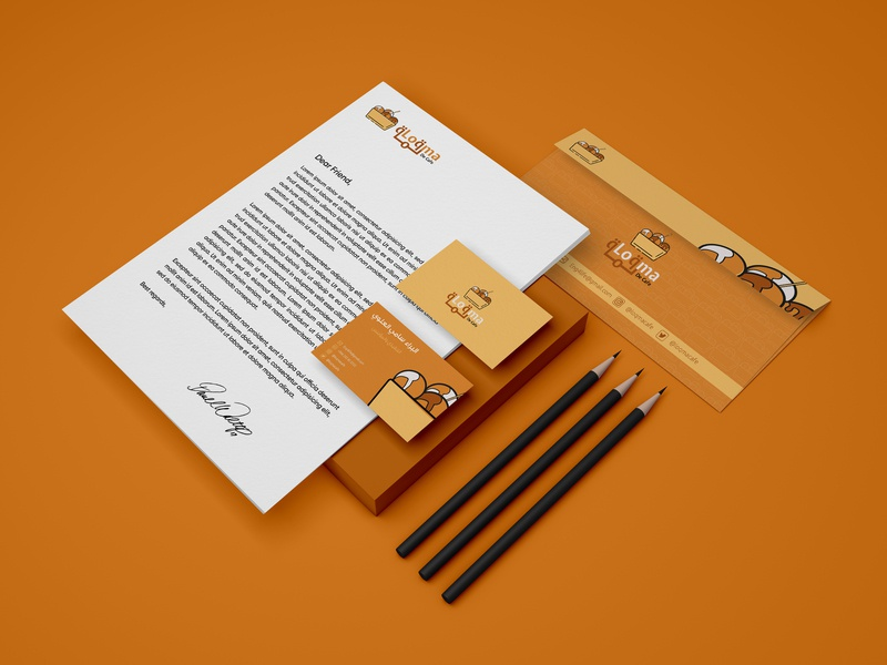 Loqma | Branding Design | KSA ibrahimartwork identity design logodesign identity creative ibrahim-rady
