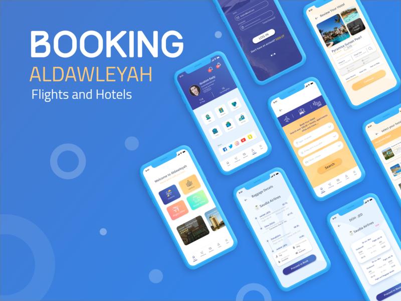 Booking creative design ibrahim-rady mobile app design mobile app mobile ux design uidesign ux ui