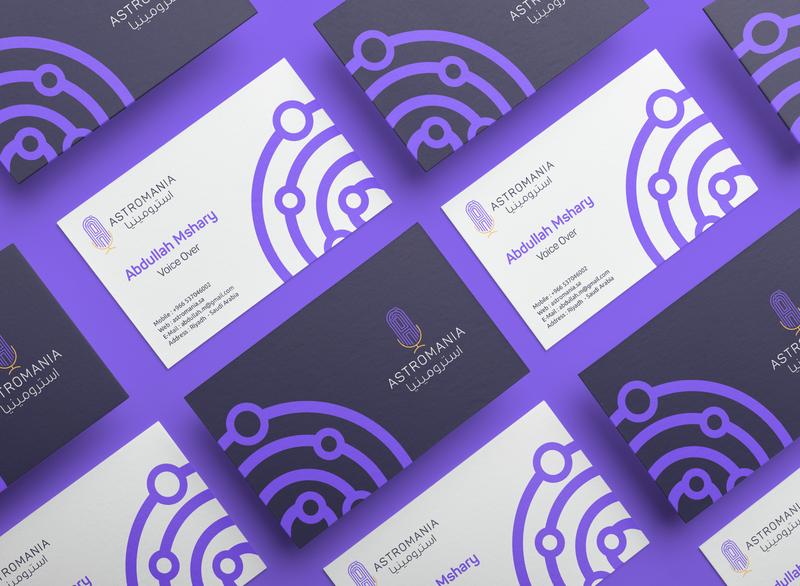 Astromania Podcast | Identity Design | KSA ibrahimartwork creative branding identity logo logodesign ibrahim-rady design