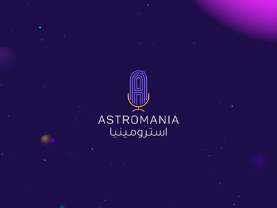 Astromania Podcast | Identity Design | KSA