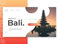 #Explore   Welcome to Bali Island