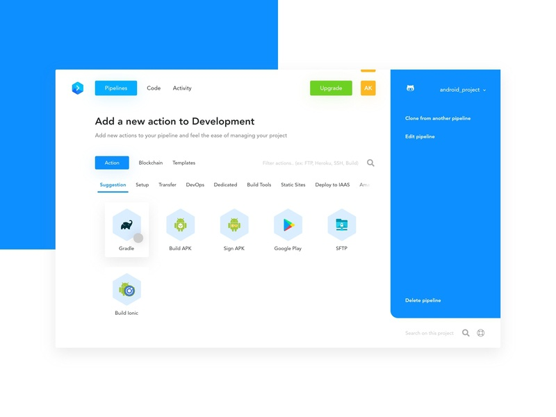 Buddy Works : Add Action by Afdolash on Dribbble