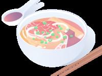 Vietnamese noodle soup à la Hue