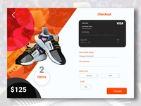 Credit Card Checkout (Daily UI Challenge) #002