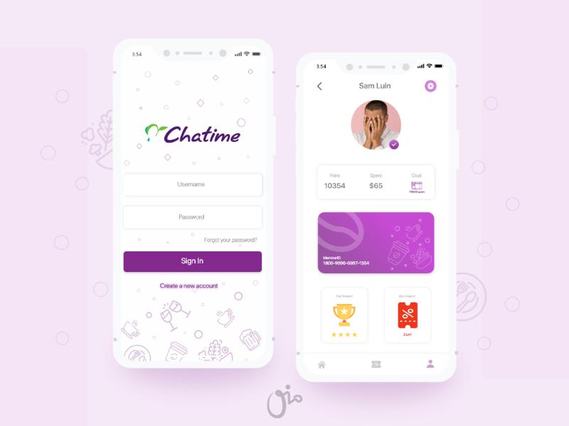 Unofficial Chatime Ui Design ui uiux uidesign mobiledesign