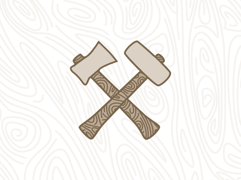Hammer Axe By Devin Halladay Dribbble