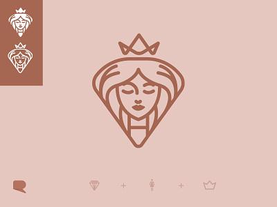 Women Ministry Icon branding logo illustrator woman