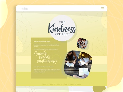 the kindless project Page adobe xd uiux webdesign