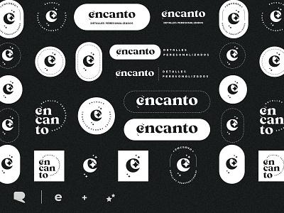 Encanto Branding variations store logo branding