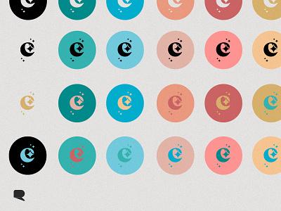 Encanto branding color references store color illustrator vector logo branding