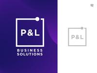 P&L Logo design