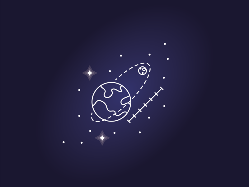 Space icon #5 calculation calculate plan launch orbit universe star stars sun solar system system solar planet line icon space spaceship galaxy astronomy astronaut