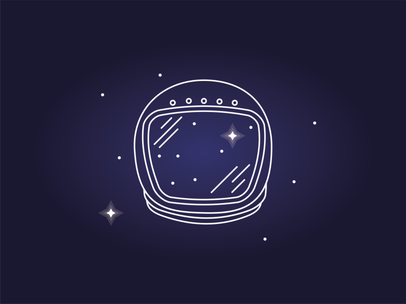Space icon #6 solar space suit universe solar system stars star planet line icon galaxy suit space helmet astronaut