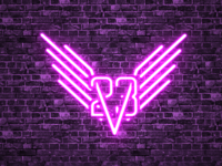 23 Valkyries Neon Sign