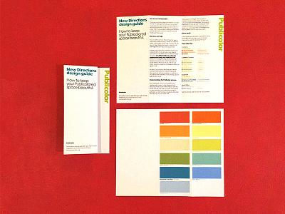 Publicolor Design Guide Tri-fold print color publicolor pamphlet trifold