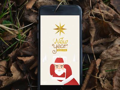 Christmas xmas santa snow tree christmas font 2016 year new year new