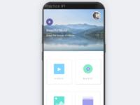 Calmness Themed App