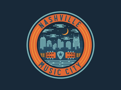 Nashville Badge