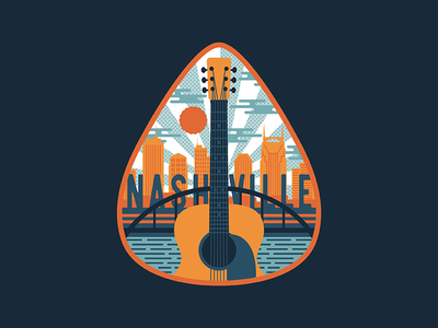 Nashville Pick Badge