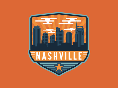 Nashville City Badge