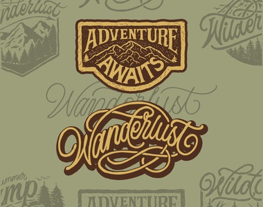 ADVENTURE AWAITS & WANDERLUST