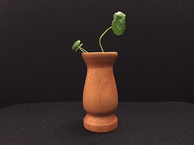 made a vase woodwork handmade vase