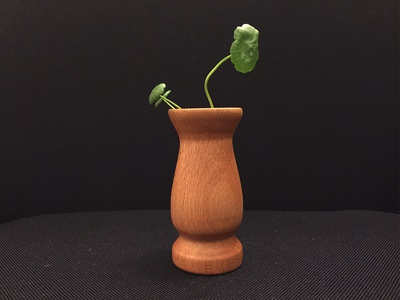 made a vase woodwork handmade vase