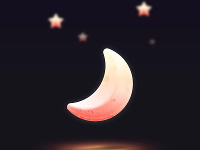 good night stars moon