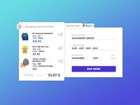 Credit Card Checkout | Dailyui 002