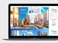 Construction Company Landing Page Design