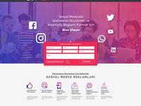 Social Media Ads Landing Page