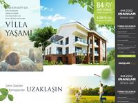 Villa Landing Page Design