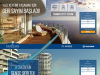 Seapearl Ataköy Landing Page Design