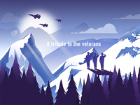 A tribute to the veterans