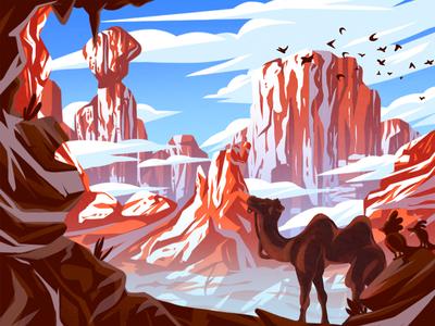 Travel series - 4 illustration