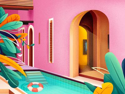 A door illustration