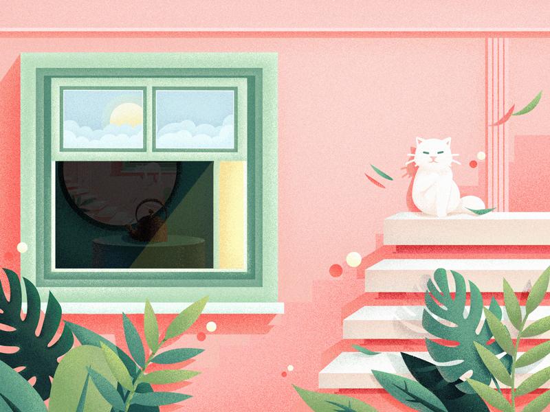 Waiting illustration