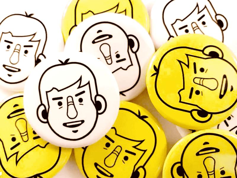 The badge 插图 illustration