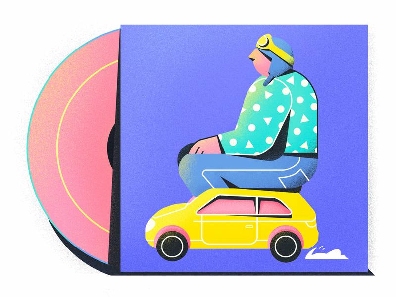 car 插图 illustration