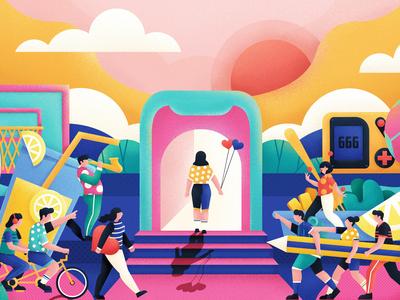 2019 插画 illustration