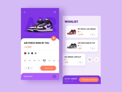 Shoes UI Concept