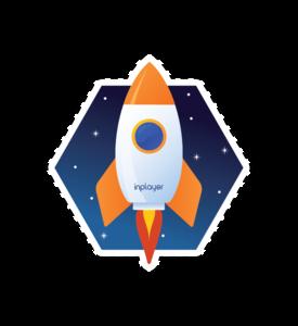 Space sticker - Rocket!