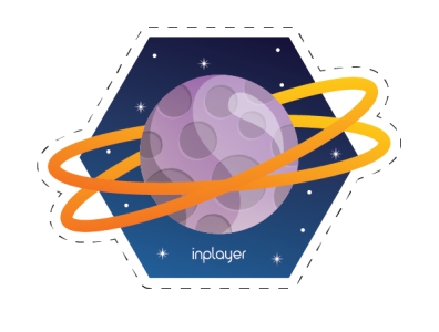 Space sticker - Planet!