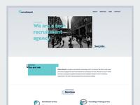 Landing page - IP Recruitment
