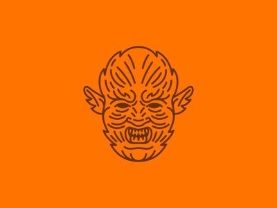 Werewolf monster scary icon set icon halloween werewolf wolf man wolf